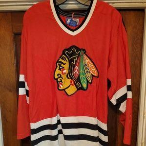 Vintage Chicago Blackhawks Hockey jersey